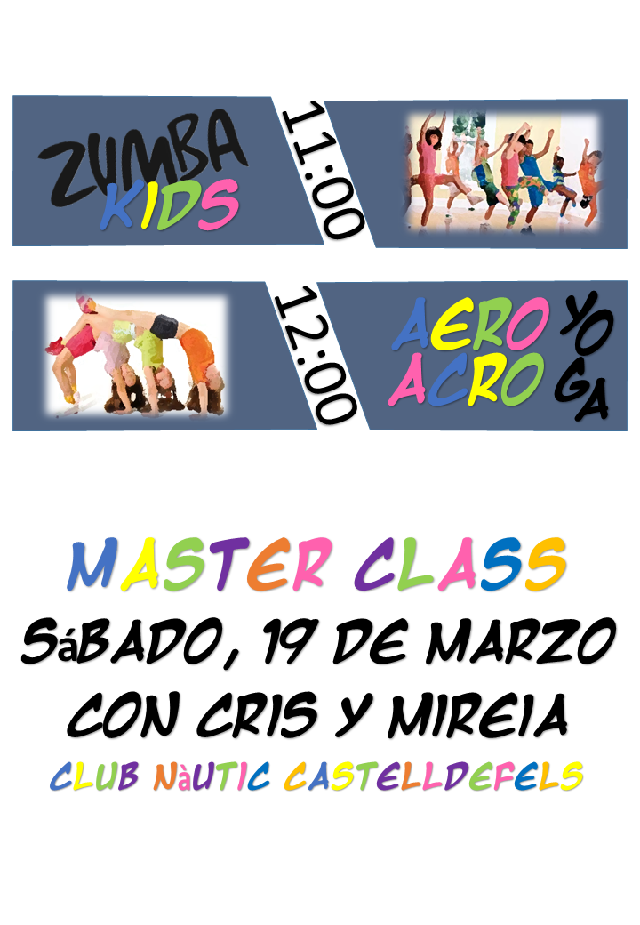 Master Class –  Actividades Infantiles